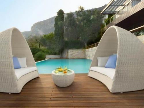 Sofas para jardines y exteriores en Madrid Decoracin y jardn