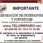 REPARACIÓN DE ORDENADORES A DOMICILIO EN EL VALLES