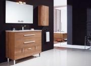 Mueble de baño bristol 100 acabado cerezo