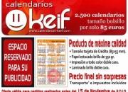 2500 Calendarios de bolsillo 85 Euros
