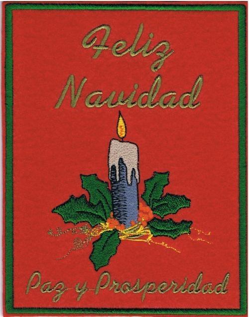 postales de navidad bordadas y personalizadas felicitaciones navideas
