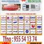 955 541374 REPARACION AACONDICIONADO SEVILLA, CALEFACCION, RECARGA DE GAS R22