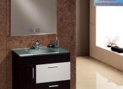 Muebles de baño modernos.conjunto pilar 80 wengué…