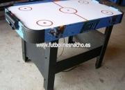 Mesas de aire, mesas air hokey domesticas y para hosteleria