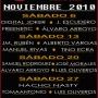 PROGRAMACIÓN BURANA MUSIC CLUB / NOVIEMBRE