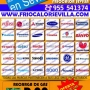 DAEWOO SEVILLA 697 515336, AIRE ACONDICIONADO, SERVICIO TECNICO, CARGA DE GAS R22, BOMBA DE CALOR, INSTALACION, CALEFACCION, MONTAJE, BOMBA DE CALOR