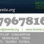 VENTA DE ENTRADAS PARA TODO TIPO DE EVENTOS WWW.REVENTA.ORG TEL. 679678160