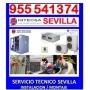 HITECSA SEVILLA 667 026920, AIRE ACONDICIONADO SERVICIO TECNICO, CARGA DE GAS R22, MONTAJE