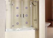 Diseño en baños. mampara de bañera sapporo 130cm …