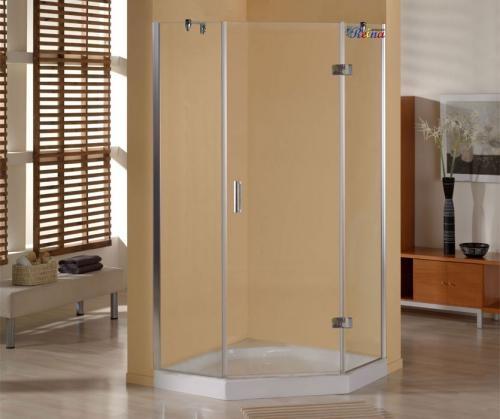 Dise o en ba os mampara de ducha seul 90x90 cromo en - Disenos de banos con ducha ...