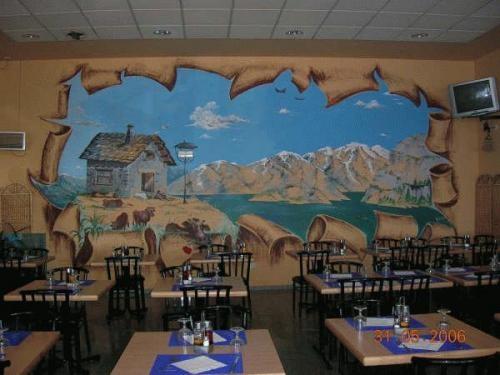 Fotos de pinto paisajes en habitaciones infantiles for Habitaciones infantiles zaragoza