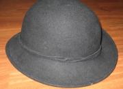 Sombrero tipo bombin para chica