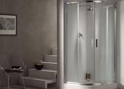 Diseño en baños. mampara ducha 80x80cm cromo sao …