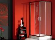 Diseño en baños. mampara de ducha cancún 80x80cm …