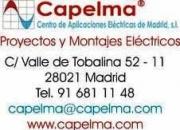 INSTALACIONES ELECTRICAS MADRID 91 681 11 48 CAPELMA, S.L.