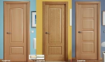 Puertas de madera precios cool puerta de interior en for Precio instalacion puertas interior