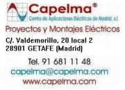 INSTALACIONES ELÉCTRICAS MADRID 916811148 www.capelma.com