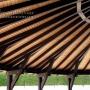 pergolas y porches de madera laminadas