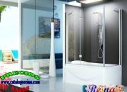 Cierres. mampara de baño amazonas 140x70 cromo