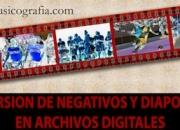 digitalizar y escanear negativos y diapositivas