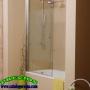 Ocasion Mampara de Bañera NEPTUNO 85 Plata Brillo