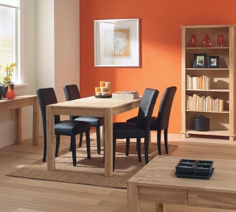 Mesa de comedor roble macizo basic en design 247 en Barcelona ...