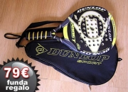 Pala padel Dunlop 200GT funda gratis de regalo