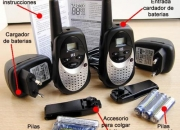 Walkie Talkie flytalk doble cargador y pilas recargables