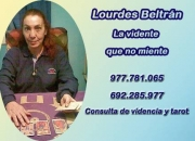 Lourdes Beltrán , tu tarot amigo 977.781.065