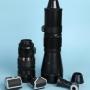 Pentacon: objetivos (también para Nikon), accesorios para Pentacon six