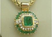 Joyas en esmeralda y diamante