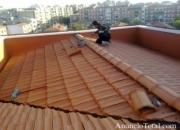 reparacion de goteras, tejados, tela  asfaltica