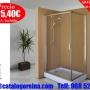 Mampara_de_Ducha_LETO_100x70_Plata_Brillo,accesorios_baño