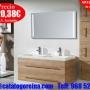 Conjunto_ROMA_120_Nogal,complementos_baño_latón_precios_en_Molina_de_Segura