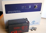 Sistema de proteccion para alarmas con bateria 12Vcc