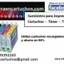 Cartuchos recargables Epson T0711 / T0712 / T0713 / T0714