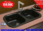 Fregadero Modelo BELOS 81x44,2 Granito Negro