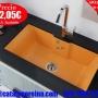 Fregadero Modelo PEGASO 86,3x47,3 Naranja