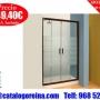 Ofertas-en-baños.Mampara_de_Ducha_GENIL_120cm_Nogal_en_Bilbao
