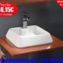 Precios-imbatibles.Lavabo GALICIA 40 Blanco