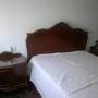 Dormitorio clásico antiguo.