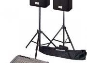 Alquilo sonido e instrumentos de percusion