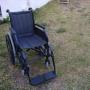 silla de ruedas manual pegable