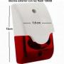 Sirena para alarma de gran potencia 120dB con luz intermitente