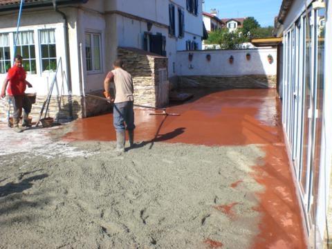 Casa residencial familiar suelo radiante hormigon - Hormigon decorativo para suelos ...