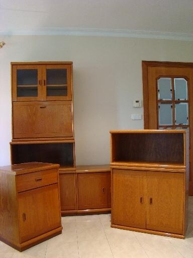 Muebles de comedor modulares y juego de mesa y sillas de ...