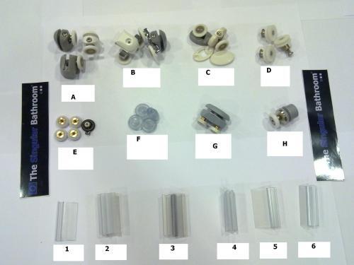 17 genial ruedas de mamparas de ba o fotos rodamiento - Rodamientos mampara bano leroy merlin ...