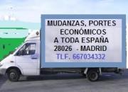 MUDANZAS BARATAS,  ECONÓMICAS 667034332