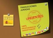 traducciones juradas urgentes. Económicas. Profesionales acreditados