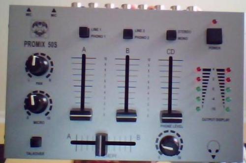 Vendo mezclador para dj, promix 50s